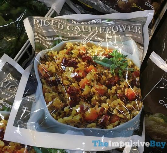 Trader Joe s Riced Cauliflower Stuffing