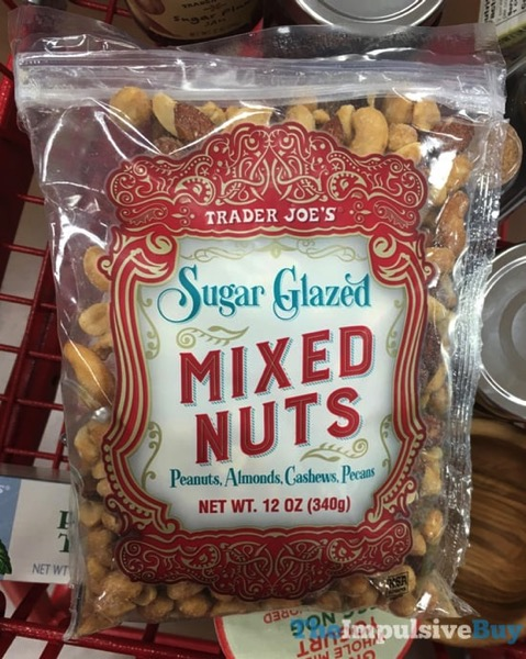 Trader Joe s Sugar Glazed Mixed Nuts