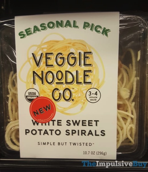 Veggie Noodle Co Seasonal Pick White Sweet Potato Spirals