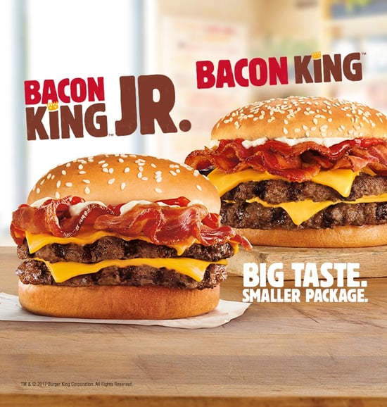 Burger King Bacon King Jr