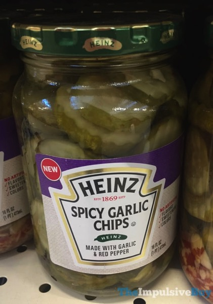 Heinz Spicy Garlic Chips