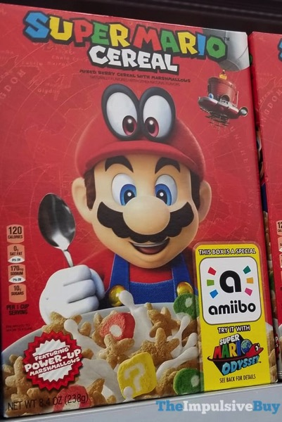 Kellogg s Super Mario Cereal