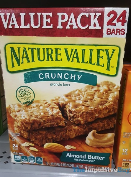Nature Valley Almond Butter Crunchy Granola Bars
