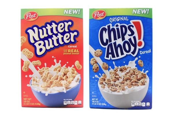 Nutter Butter Chips Ahoy Cereals