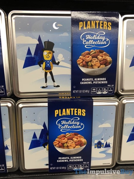 Planters Holiday Collection 2017 Design