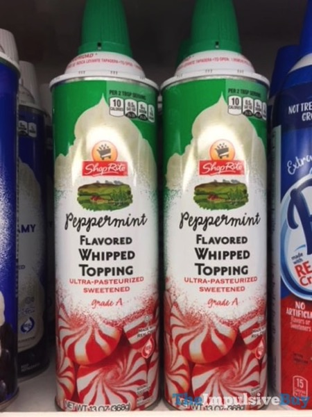 ShopRite Peppermint Flavored Whipped Topping