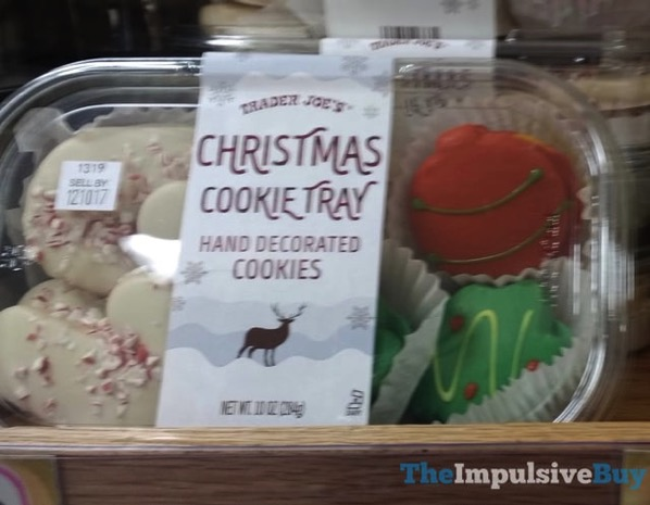 Trader Joe s Christmas Cookie Tray