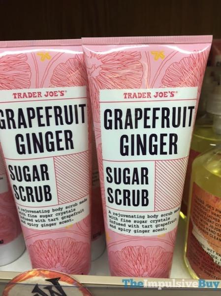 Trader Joe s Grapefruit Ginger Sugar Scrub