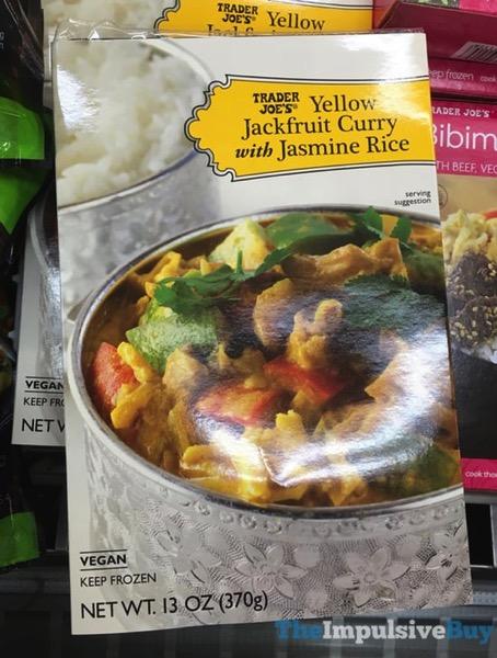 Trader Joe s Yellow Jackfruit Curry with Jasmine Rice