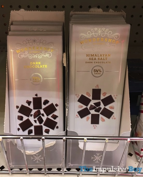 Wondershop at Target Dark Chocolate and Himalayan Sea Salt Dark Chocolate Bars