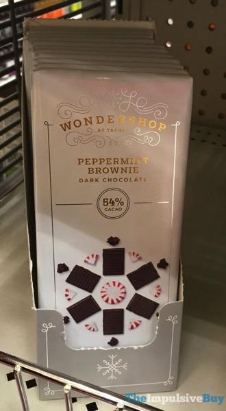 Wondershop at Target Peppermint Brownie Dark Chocolate Bar