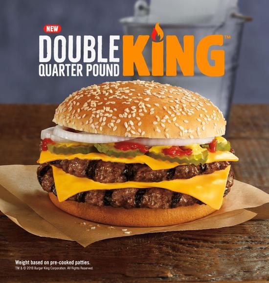 BK Double Quarter Pound King