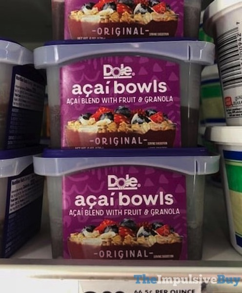 Dole Original Acai Bowls jpg