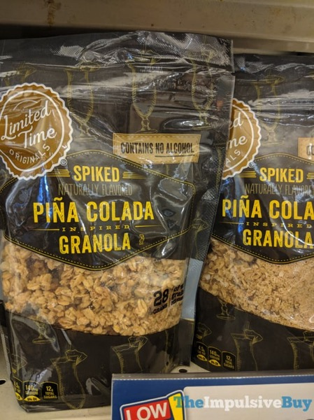 Giant Limited Time Originals Spiked Pina Colada Granola