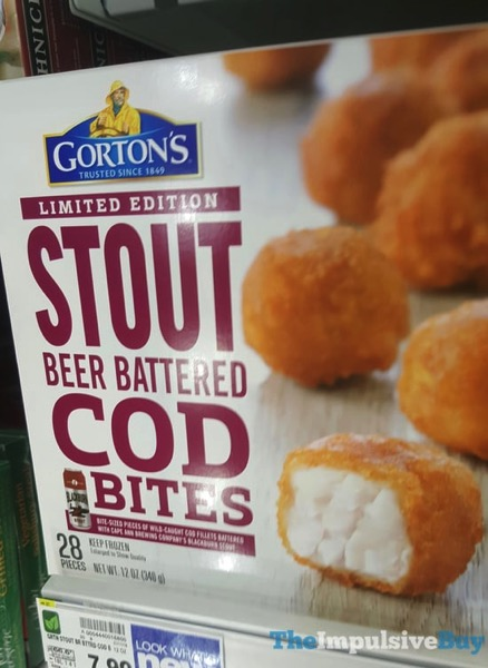 Gorton s Limited Edition Stout Beer Battered Cod Bites jpg