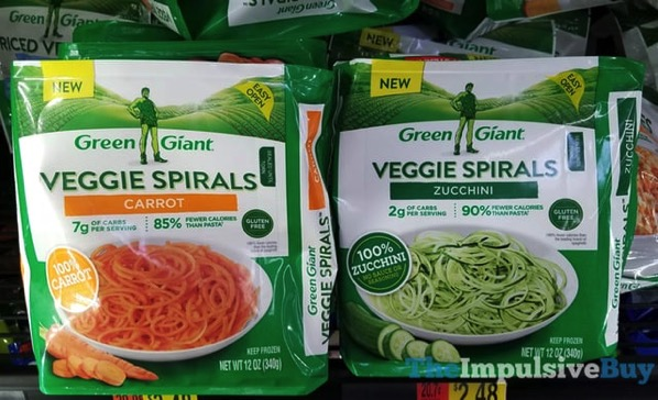 Green Giant Veggie Spirals  Carrot and Zucchini