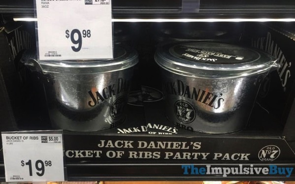 Jack Daniel s Bucket of Ribs Party Pack