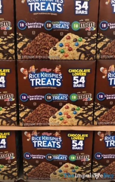 Kellogg s Rice Krispies Treats Chocolate Lovers