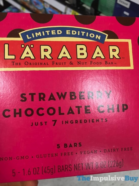 Larabar Limited Edition Strawberry Chocolate Chip Bars