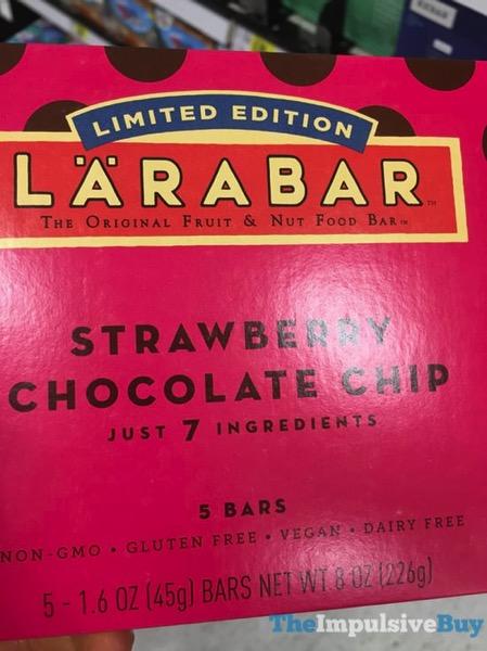 Larabar Limited Edition Strawberry Chocolate Chip Bars