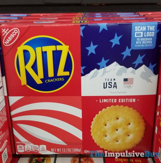 Limited Edition Team USA Ritz Crackers jpg