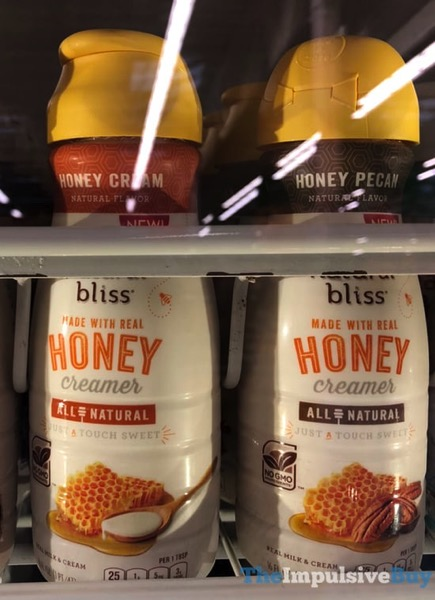 Nestle Coffee mate Natural Bliss Made with Real Honey Creamer  Honey Cream and Honey Pecan