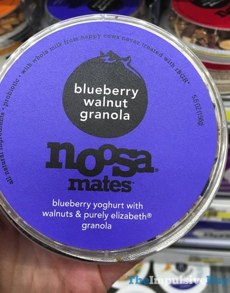 Noosa Mates Blueberry Walnut Granola Yoghurt