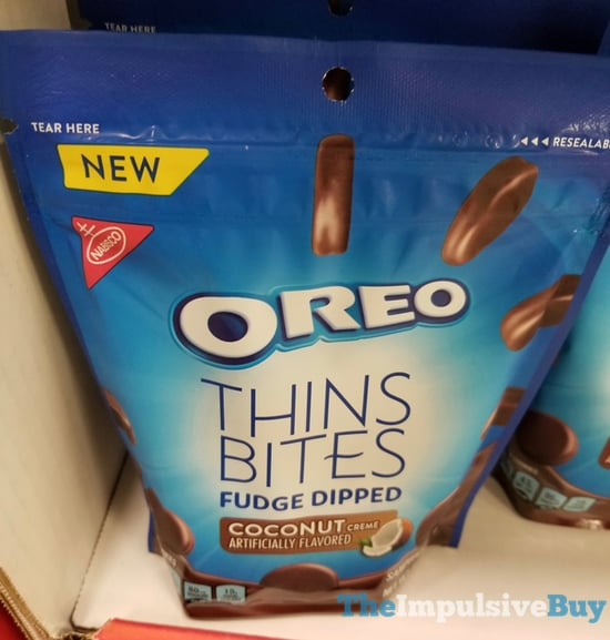 Oreo Thins Bites Fudge Dipped Coconut