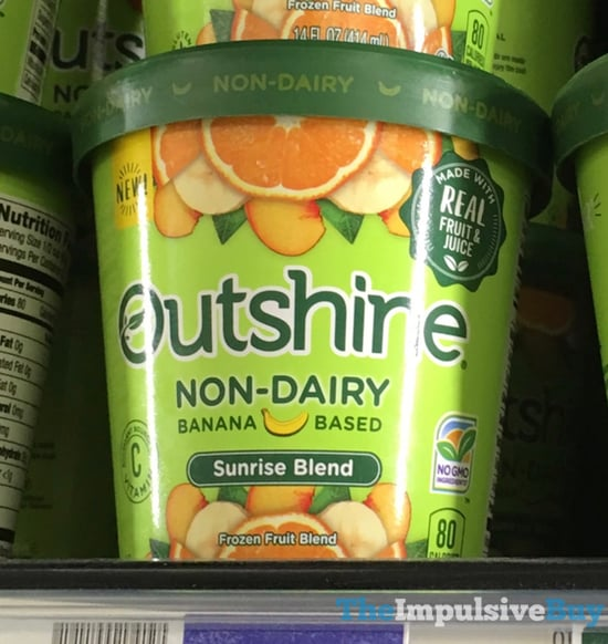 Outshine Non Dairy Banana Based Sunrise Blend Frozen Fruit Blend