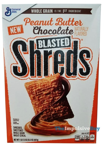 Peanut Butter Chocolate Blasted Shreds Cereal
