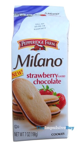 Pepperidge Farm Milano Strawberry Chocolate Cookies