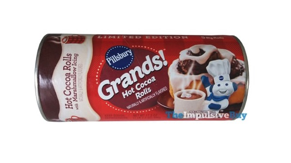 Pillsbury Grands Limited Edition Hot Cocoa Rolls