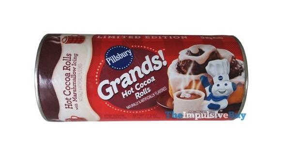 Pillsbury Grands Limited Edition Hot Cocoa Rolls