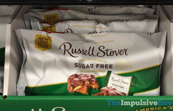 Russell Stover Sugar Free Chocolate Candy with Stevia Extract
