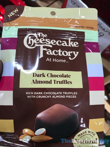 The Cheesecake Factory at Home Dark Chocolate Almond Truffles