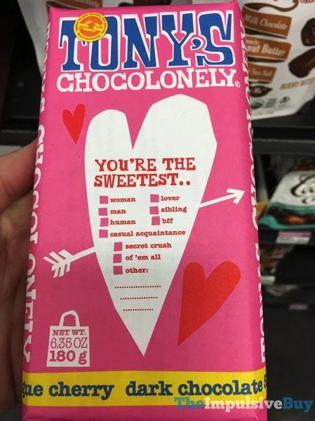 Tony s Chocolonely Cherry Dark Chocolate Bar