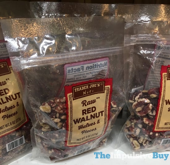 Trader Joe s Raw Red Walnuts Halves  Pieces