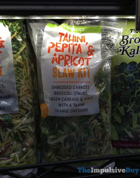 Trader Joe s Tahini Pepita  Apricot Slaw Kit