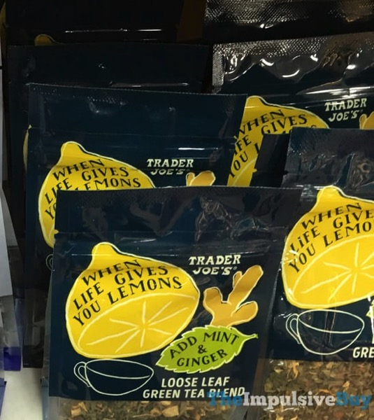 Trader Joe s When Life Gives You Lemons Loose Leaf Green Tea Blend