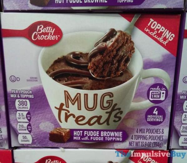 Betty Crocker Hot Fudge Brownie Mug Treats