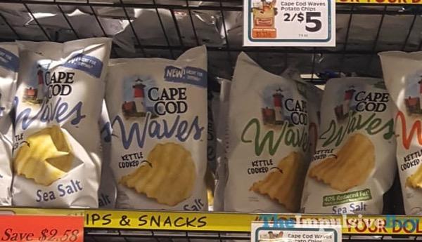 Cape Cod Waves Sea Salt Potato Chips