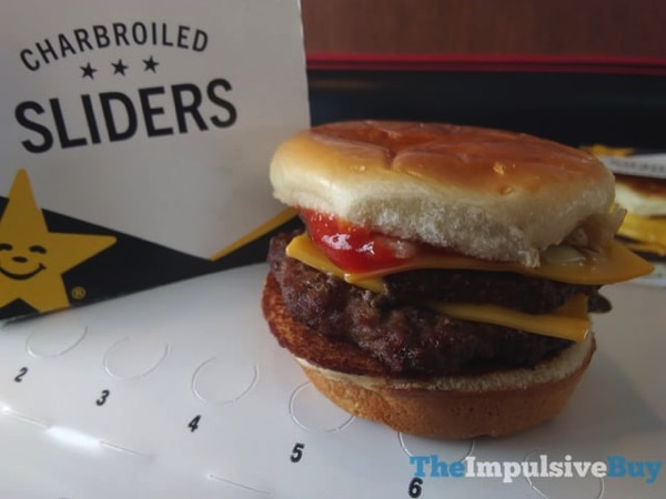 Carls Jr Charbroiled Sliders 3