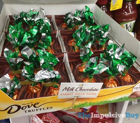Dove Truffles Milk Chocolate Carrot Patch Packs