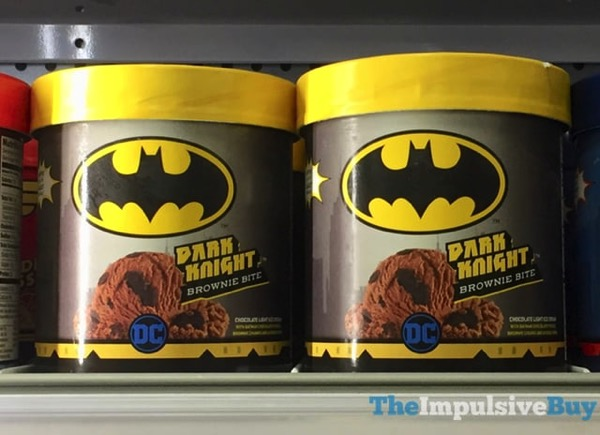 Dreyer s Edy s DC Comics Dark Knight Brownie Bite Ice Cream