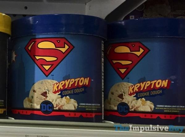 Dreyer s Edy s DC Comics Krypton Cookie Dough Ice Cream
