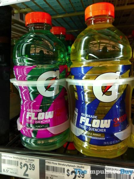 Gatorade Flow Tidal Punch