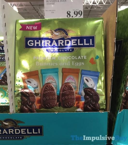 Ghirardelli Premium Chocolate Bunnies and Eggs