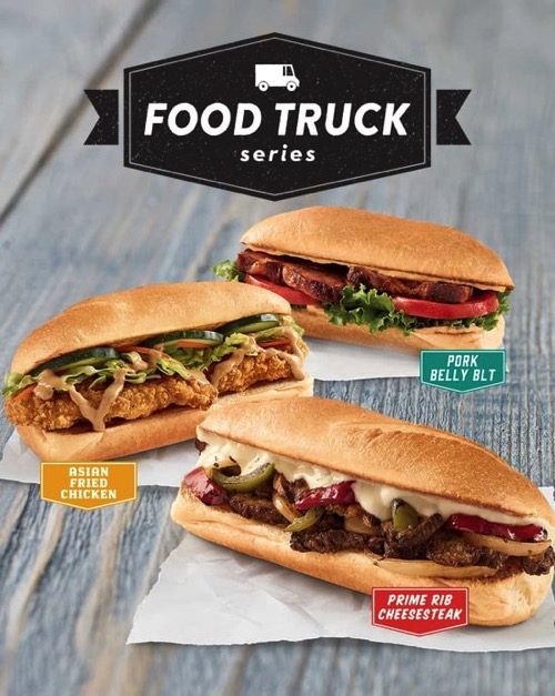 Fast Food News Jack In The Box Food Truck Series Sandwiches The