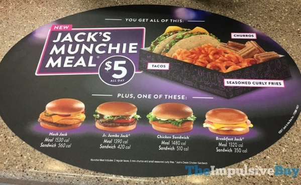 Watch video· Jack in the Box's $5 Meal Steals are so big that they bully other combos and steal their lunch money. Hey, pick on someone your own size! The meals include curly fries, a drink and your choice of the Sourdough Jack, Jack's Spicy Chicken or Ultimate Cheeseburger.