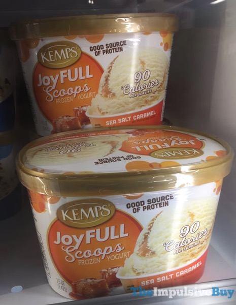 Kemp s JoyFULL Scoops Sea Salt Caramel Frozen Yogurt